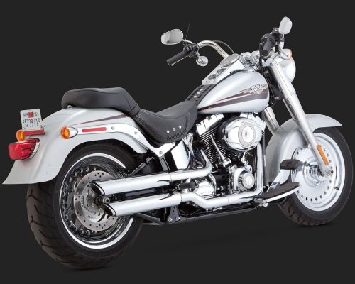 Twin Slash 3pulgadas slip-ons Softail