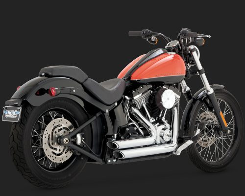 Short Shot Staggered - Softail
