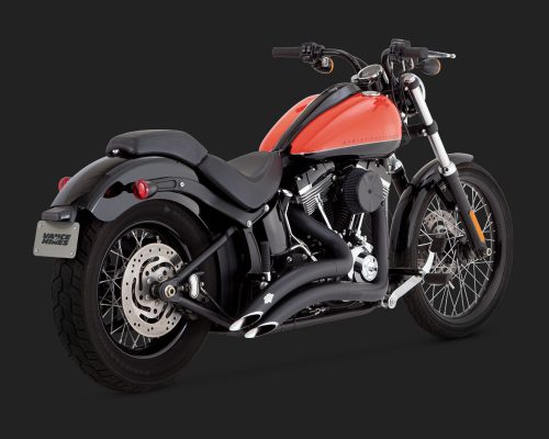 Big Radius 2-2 Softail Black